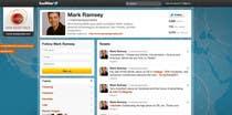 Graphic Design Inscrição do Concurso Nº34 para Twitter Background for Mark Ramsey Media