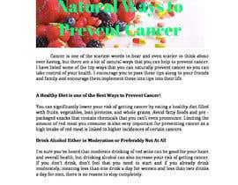 hberholtz13 tarafından Natural ways to prevent cancer için no 2