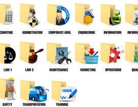 #9 for Design some Icons for Folders af kido0101