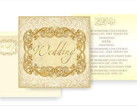 Nro 32 kilpailuun Design some Wedding and Mehndi Party Invitations for MUSLIM WEDDING käyttäjältä artist4