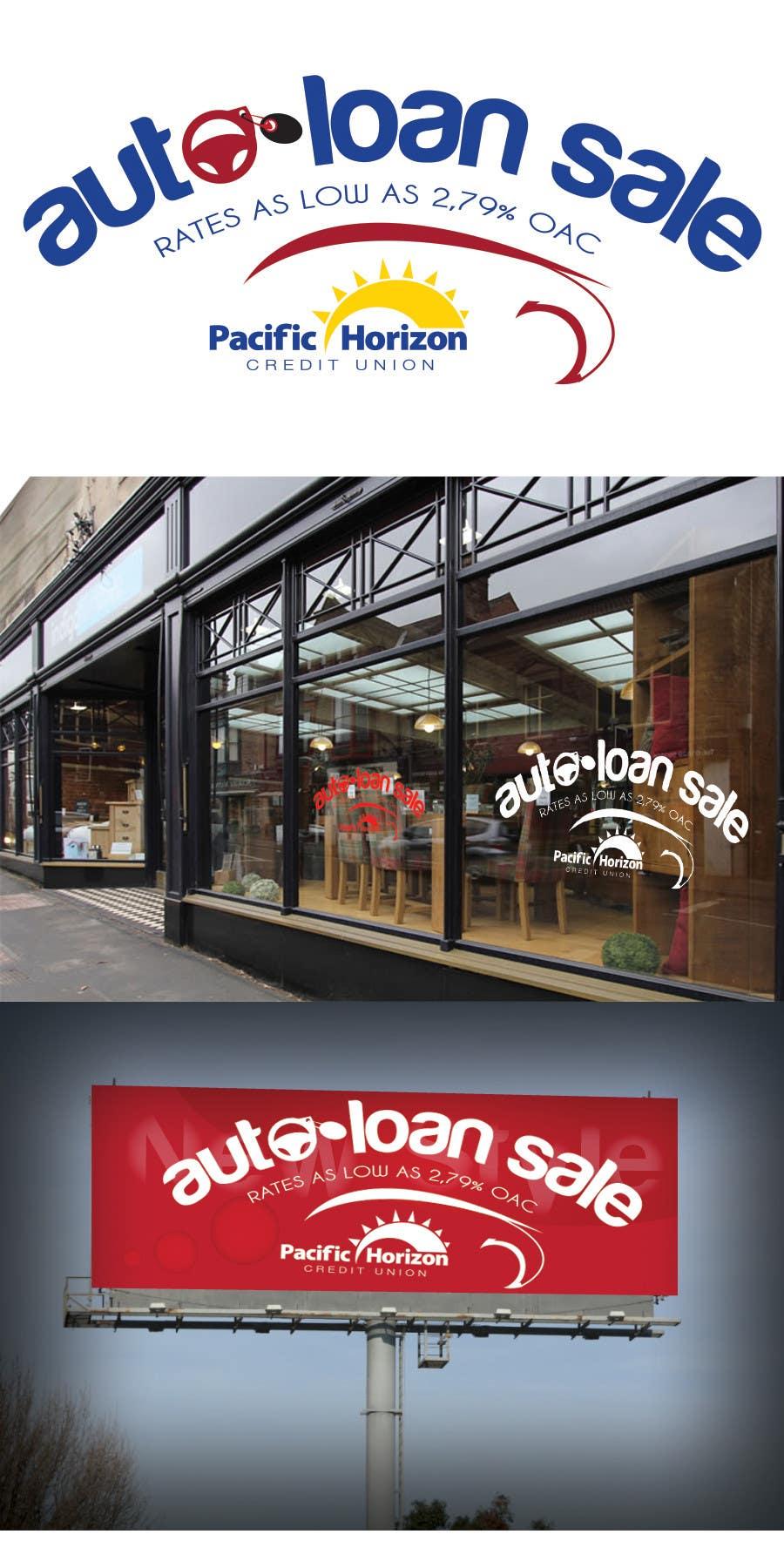 Graphic Design for Credit Union Auto Loan Sale için 22 numaralı Yarışma Girdisi