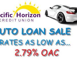 #20 untuk Graphic Design for Credit Union Auto Loan Sale oleh Luizmash