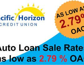 #4 para Graphic Design for Credit Union Auto Loan Sale por Luizmash