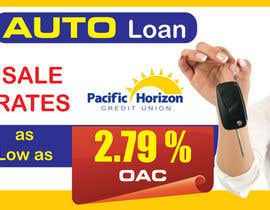 #13 para Graphic Design for Credit Union Auto Loan Sale por blacklist08