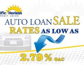 #7 untuk Graphic Design for Credit Union Auto Loan Sale oleh techwise