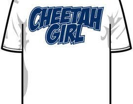 #24 untuk Simple T-Shirt Design: Cheetah Girl oleh resistantdesign