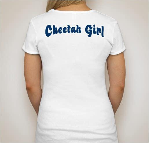 Proposition n°26 du concours Simple T-Shirt Design: Cheetah Girl