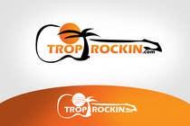 Logo Design tropical music theme blog için Graphic Design145 No.lu Yarışma Girdisi