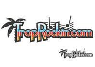 Logo Design tropical music theme blog için Graphic Design109 No.lu Yarışma Girdisi