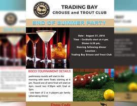 mdmirazbd2015 tarafından Trading Bay Grouse and Trout Club end of summer party için no 10