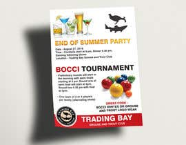 igraphicdesigner tarafından Trading Bay Grouse and Trout Club end of summer party için no 7
