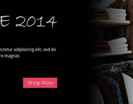 nº 19 pour create a banner for online shopping cloth par webbirdcomany
