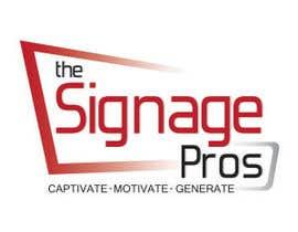 #54 untuk Design a Logo for The Signage Pros oleh anacristina76