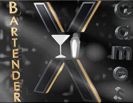 #28 untuk Design a logo for bartenderXgames oleh SimonLab