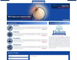 #6 for HVAC Company need home page mock-up. af sharpBD