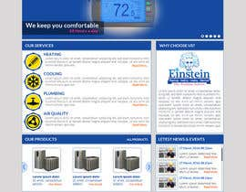 #12 for HVAC Company need home page mock-up. af sharpBD