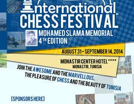 #9 for Design a Poster for Chess Festival af dexteralarcio