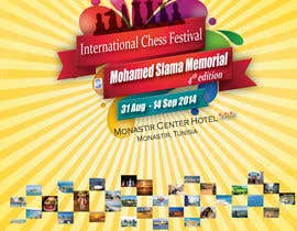#2 for Design a Poster for Chess Festival af christyrajvel