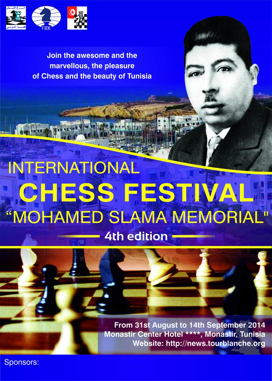 #38 for Design a Poster for Chess Festival by TATHAE