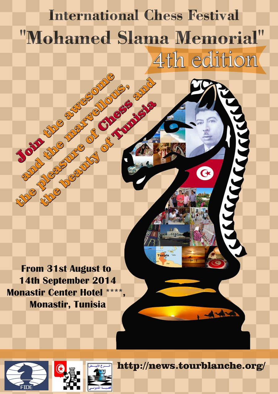 #27 for Design a Poster for Chess Festival by emahalacheva