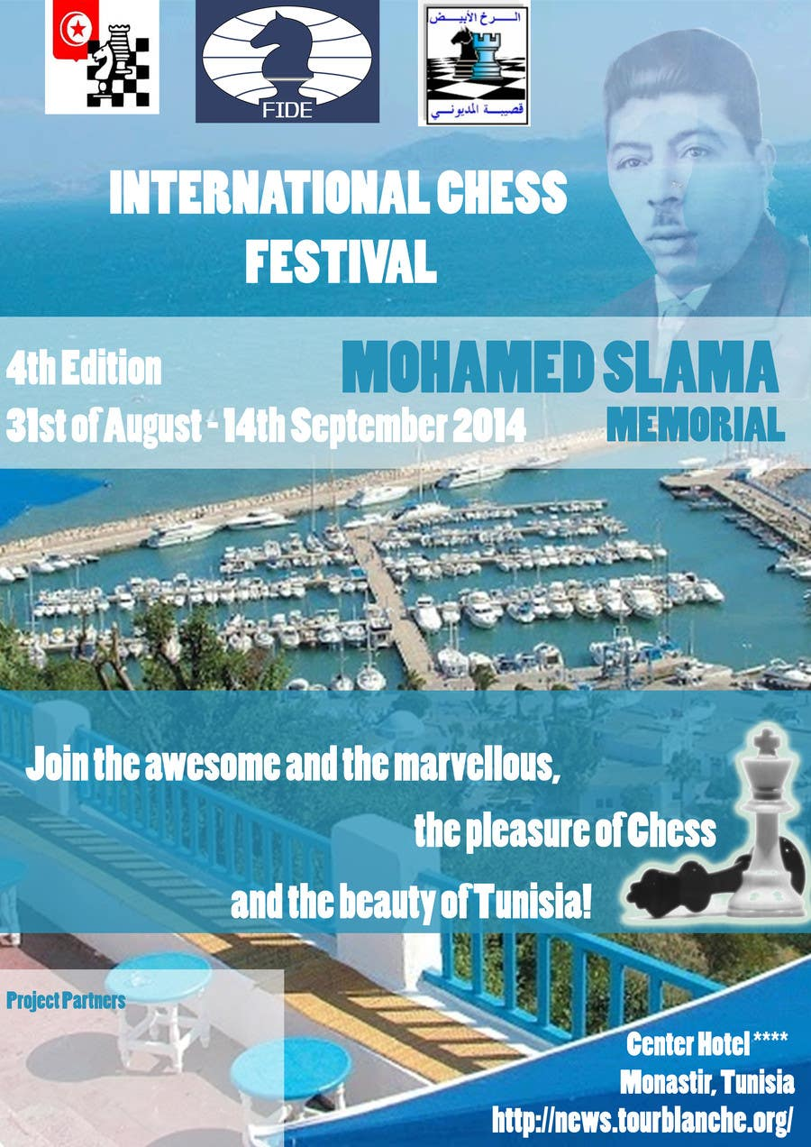 #44 for Design a Poster for Chess Festival by ciprianlaja