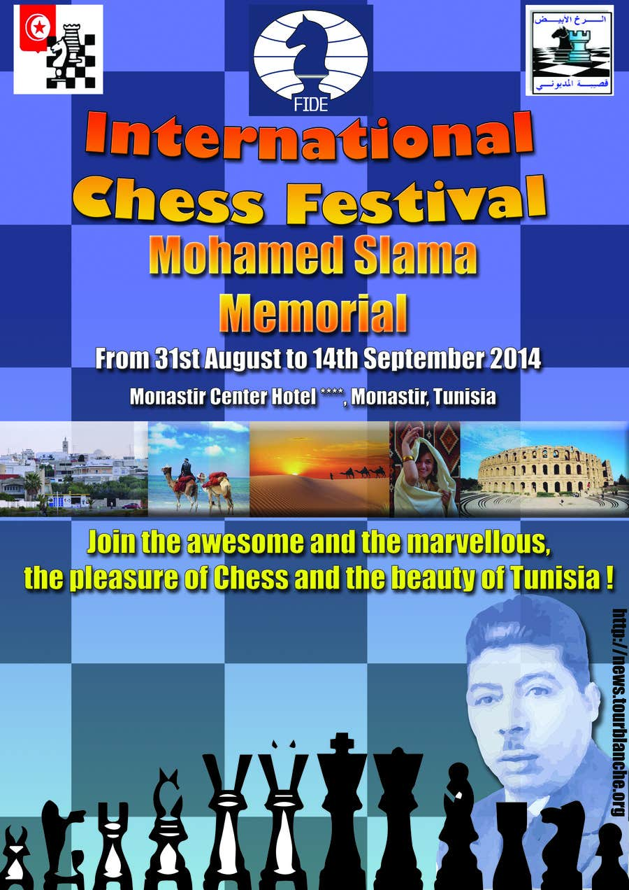 #10 for Design a Poster for Chess Festival by Tandrei91