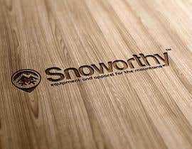 #165 for Design a Logo for Snoworthy af saligra