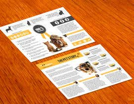 #20 para Design a Flyer for Healthy natural pet dog Treats por amitpadal