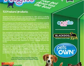 #18 for Design a Flyer for Healthy natural pet dog Treats by felipe0321