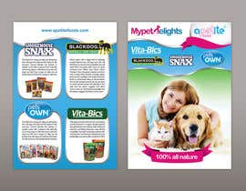 #22 para Design a Flyer for Healthy natural pet dog Treats por huongho84
