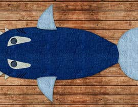 "utkarshbarthwal tarafından Design for the physical product called ""shark tail blanket for kids"" için no 3"