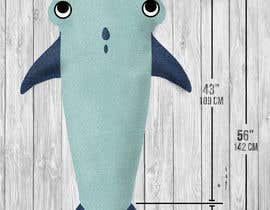"WajahatMehdi tarafından Design for the physical product called ""shark tail blanket for kids"" için no 8"