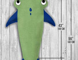 "WajahatMehdi tarafından Design for the physical product called ""shark tail blanket for kids"" için no 11"