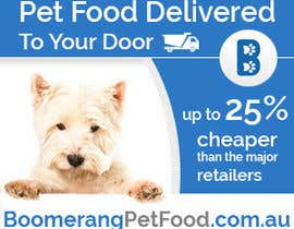 nº 32 pour Design a Static MREC Banner for Pet Food  Business par Oskars89