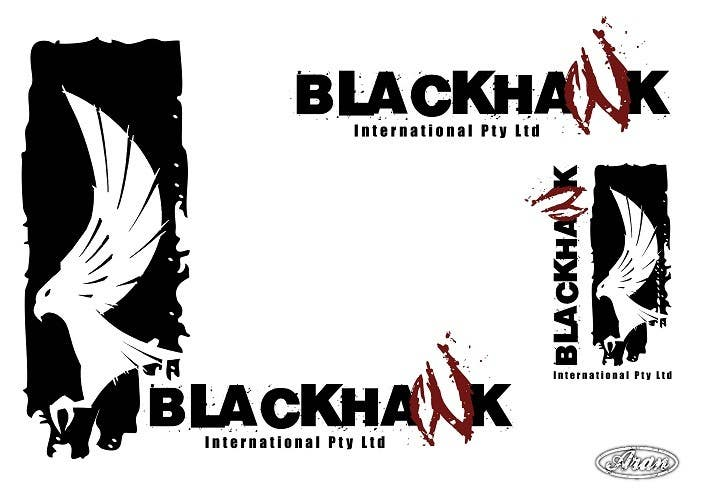 #167 for Logo Design for Blackhawk International Pty Ltd by AranDeBaron