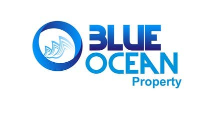 "#85 para Design a Logo for ""Blue Ocean Property"" por nuwangrafix"