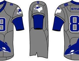 studweiser13 tarafından North Texas Orcas Football Team Uniform Contest için no 3