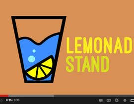 "#41 para Design a Logo for ""Lemonade Stand"" YouTube channel por turntablejoe"