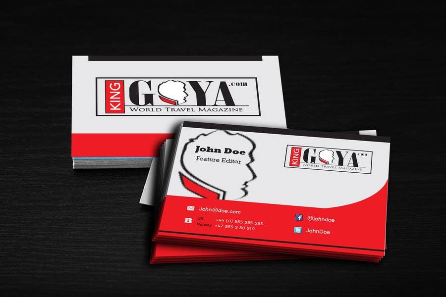 Inscrição nº 10 do Concurso para Design some Business Cards.