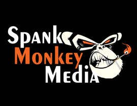 #447 for Logo Design for Spank Monkey Media by sopprrano