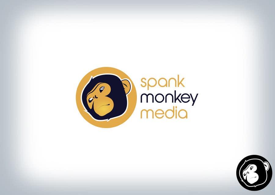 Kilpailutyö #110 kilpailussa Logo Design for Spank Monkey Media