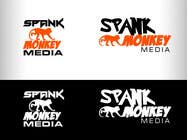 Graphic Design Конкурсная работа №407 для Logo Design for Spank Monkey Media