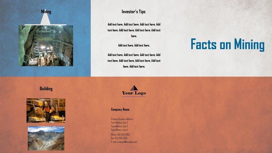 Bài tham dự cuộc thi #                                        3                                      cho                                         Design a Brochure for Mining in Chile