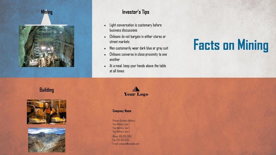 Bài tham dự cuộc thi #                                        5                                      cho                                         Design a Brochure for Mining in Chile