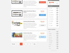 #2 for Hosting Coupons Homepage Template af thewolfmenrock