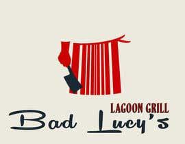 #71 for Design a Logo for Bad Lucy's Lagoon Grill af marioandi