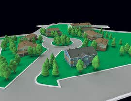 kvp77 tarafından Cartoonize an aerial photo of our property için no 20
