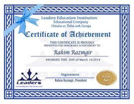#3 para Certificate design por bernardtolentino