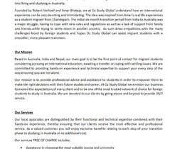 maureendass tarafından write a professional company profile for a new student immigration company için no 16