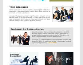 nº 3 pour Design for a simple one page responsive layout for a investment business par nakib14